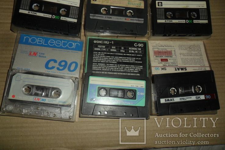 Аудиокассета кассета TDK Swat SNC и др. - 9 шт в лоте, фото №8