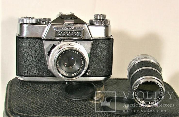 Фотоаппарат YoigHander Bessamatic  West Germany, фото №3