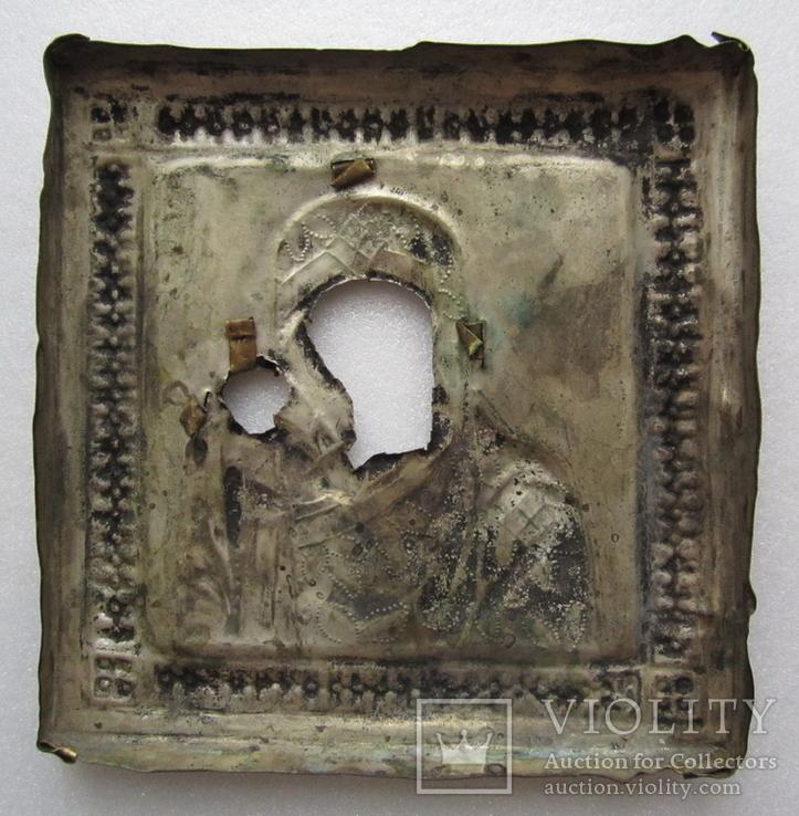 Оклад к иконе Казанской Божией Матери, фото №9