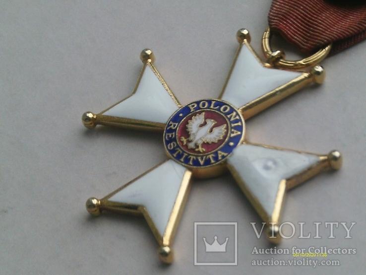 Орден Відродження Польщі 4 кл. Polonia Restituta. 1944., фото №5