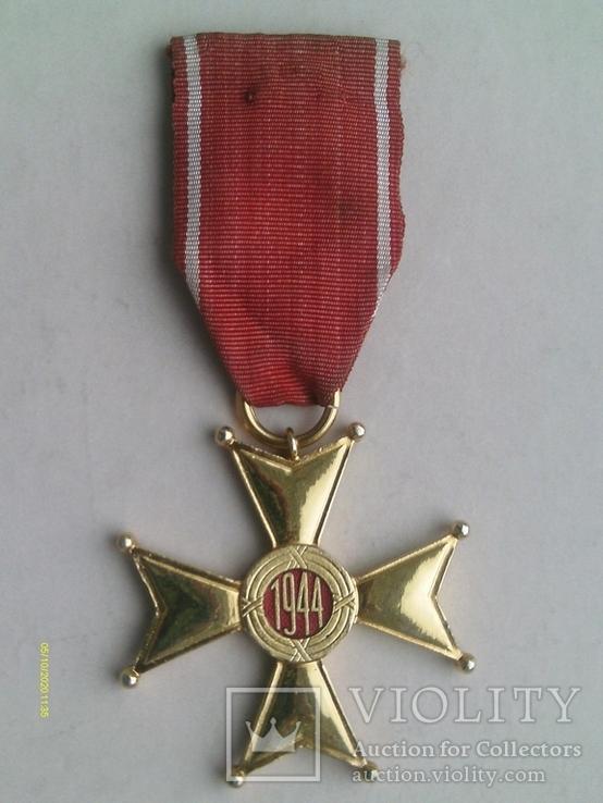 Орден Відродження Польщі 4 кл. Polonia Restituta. 1944., фото №6