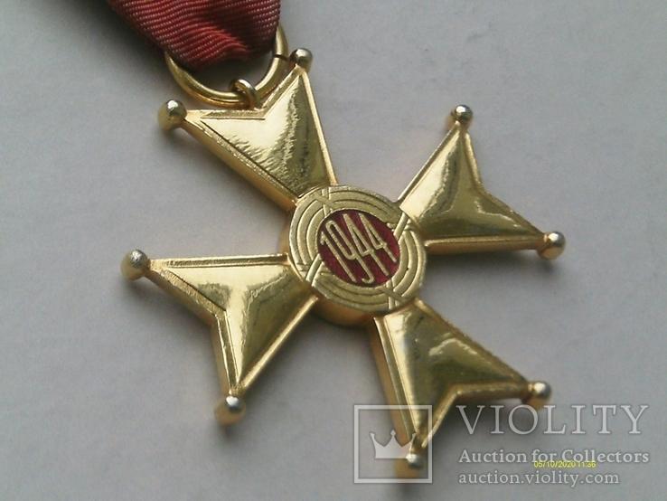 Орден Відродження Польщі 4 кл. Polonia Restituta. 1944., фото №8