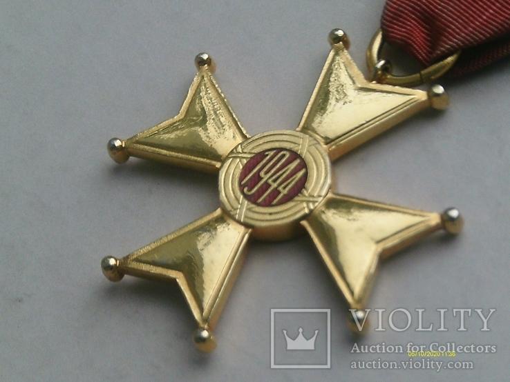Орден Відродження Польщі 4 кл. Polonia Restituta. 1944., фото №9