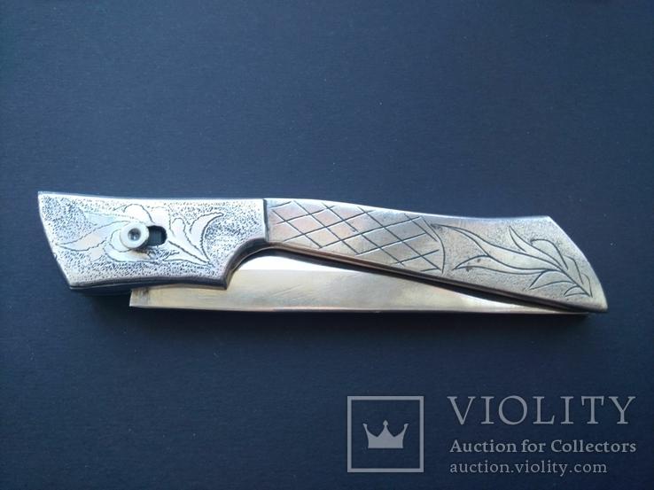 Нож складной автоматический выкидной (выкидуха) ИТК СССР, фото №10