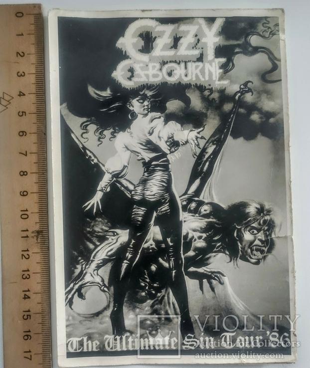 Фотографии 80-х гг. Manowar. Black Sabbath. Bon Jovi. Ozzy Osbourne, фото №3