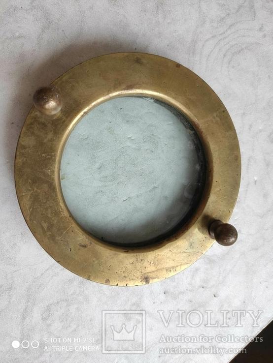 Водолазный шлем передняя часть, фото №4