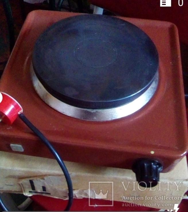 Электроплитка Хортица-6  СССР новая, фото №6