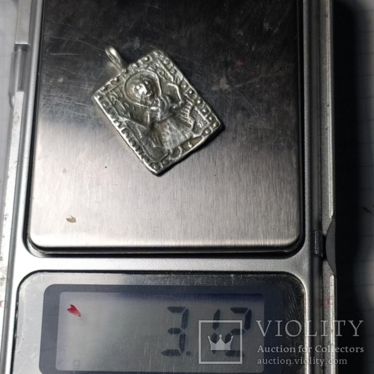 Оранта кр серебро копия, фото №5