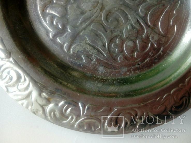 Пепельница чеканка с нержавеющей стали, фото №10