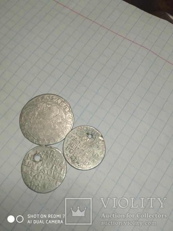 Шестак 1625 рік. І 2 трояки, фото №6