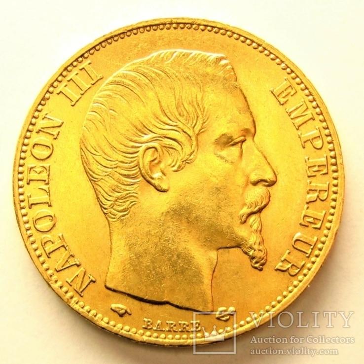 Франция 20 франков 1859 г.