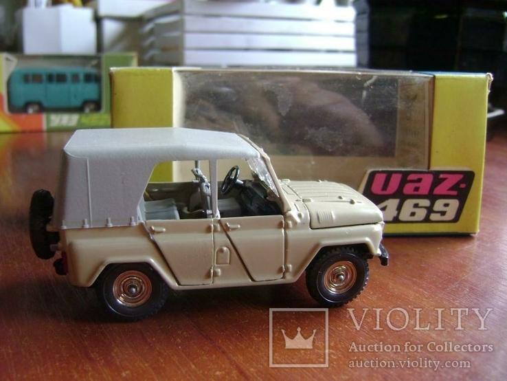 УАЗ - 469. А34. СССР 1:43 в коробке, фото №3