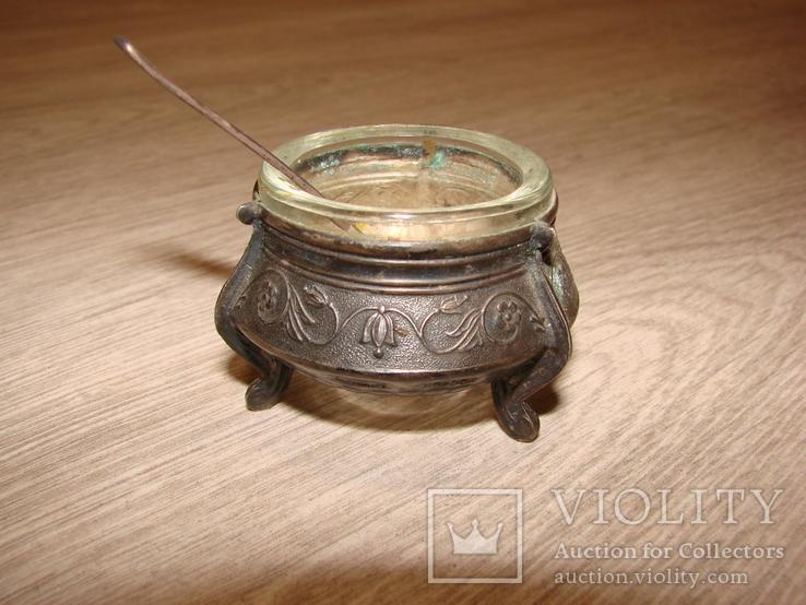 Солонка с ложкой, фото №4