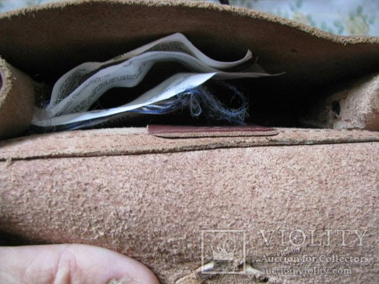 Сумка Zara TRF.made in India.кожа., фото №12