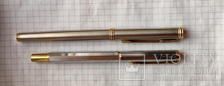 Две перьевые ручки(иридивое перо и нумерная), фото №3