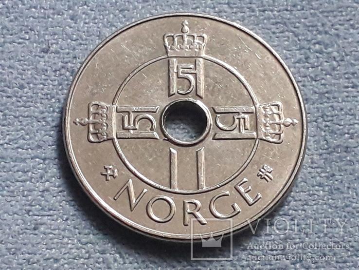 Норвегия 1 крона 1998 года, фото №3