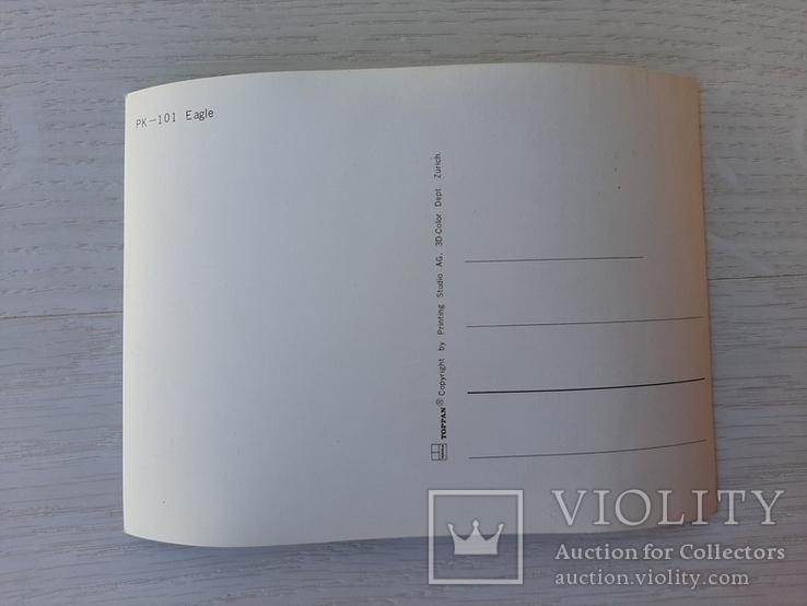Немецкая ретро 3D открытка, фото №3