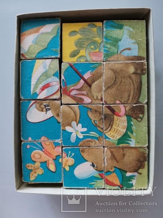 Кубики Наши Знакомые. СССР, фото №3