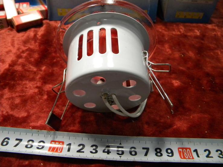Светильники Красные 10 штук+10 лампочек., фото №8