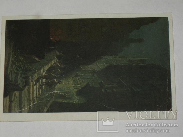 Открытка 1910-1950 годы.   №114, фото №3