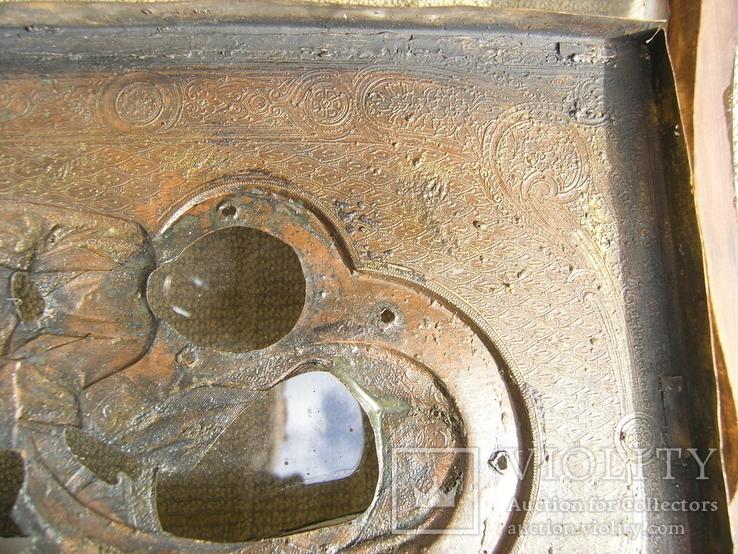 Икона  Смоленская   Пресвятая Богородица в киоте, фото №6