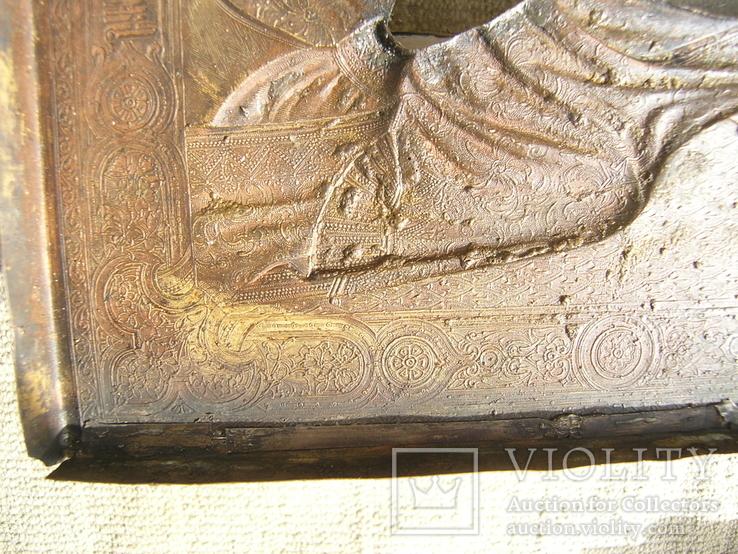 Икона  Смоленская   Пресвятая Богородица в киоте, фото №7