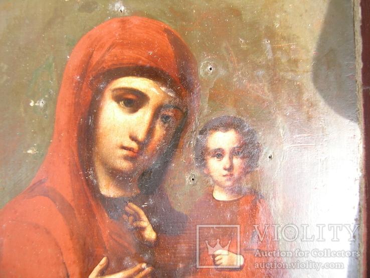 Икона  Смоленская   Пресвятая Богородица в киоте, фото №8