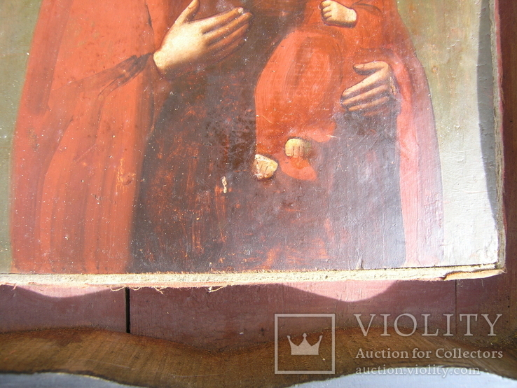 Икона  Смоленская   Пресвятая Богородица в киоте, фото №9