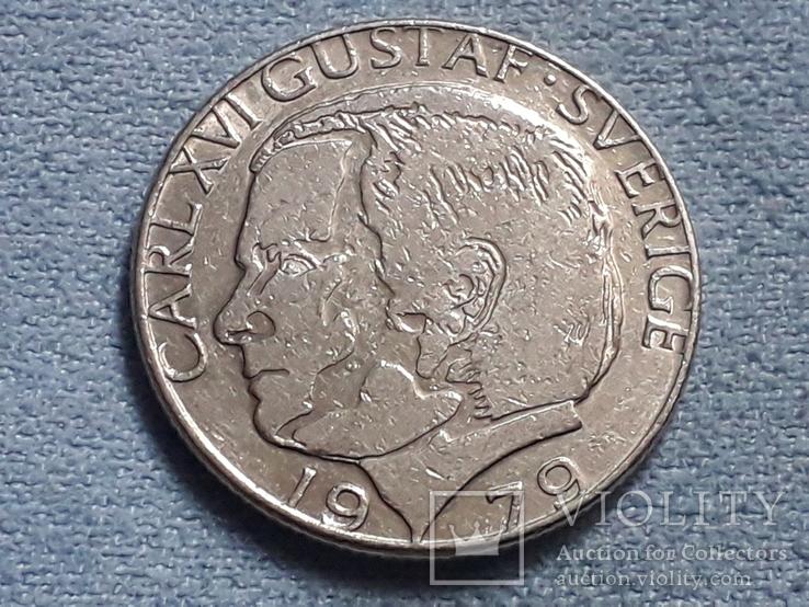 Швеция 1 крона 1979 года, фото №3