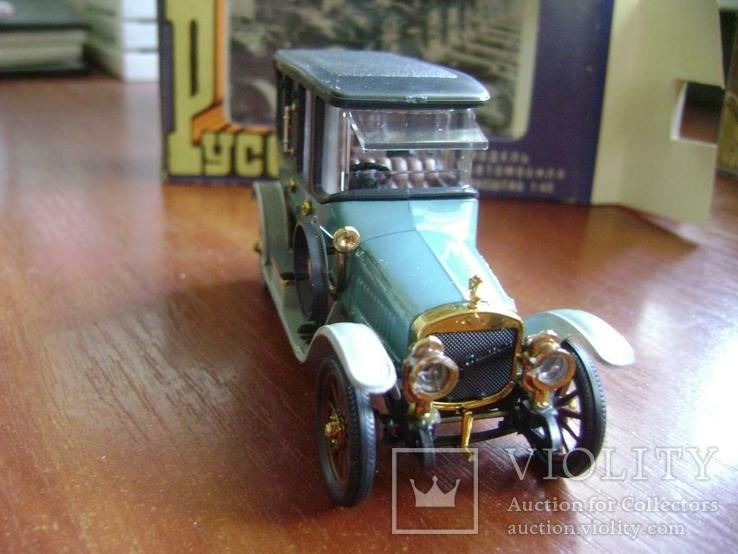 Руссо Балт Лимузин СССР 1:43 в родной коробке, фото №3