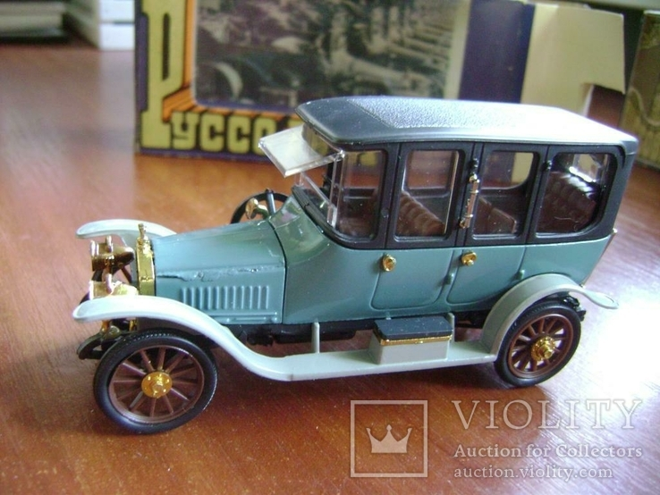 Руссо Балт Лимузин СССР 1:43 в родной коробке, фото №5