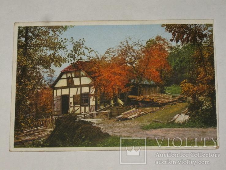Открытка 1910-1950 годы.   №125, фото №2