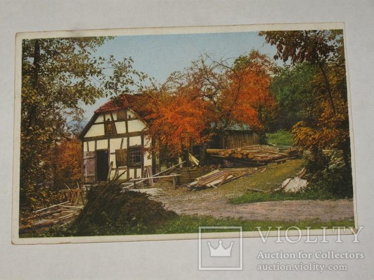 Открытка 1910-1950 годы.   №125, фото №3