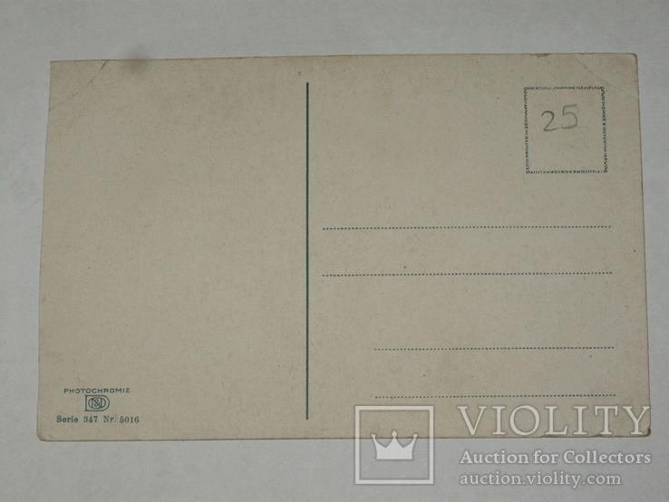 Открытка 1910-1950 годы.   №125, фото №4