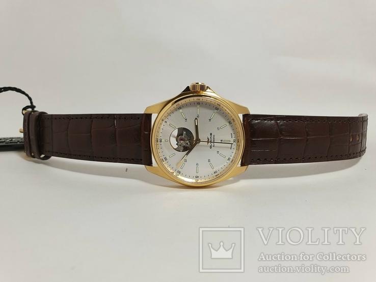 Новые Glycine Combat Classic Automatic Silver Dial Men's Watch GL0121, фото №10