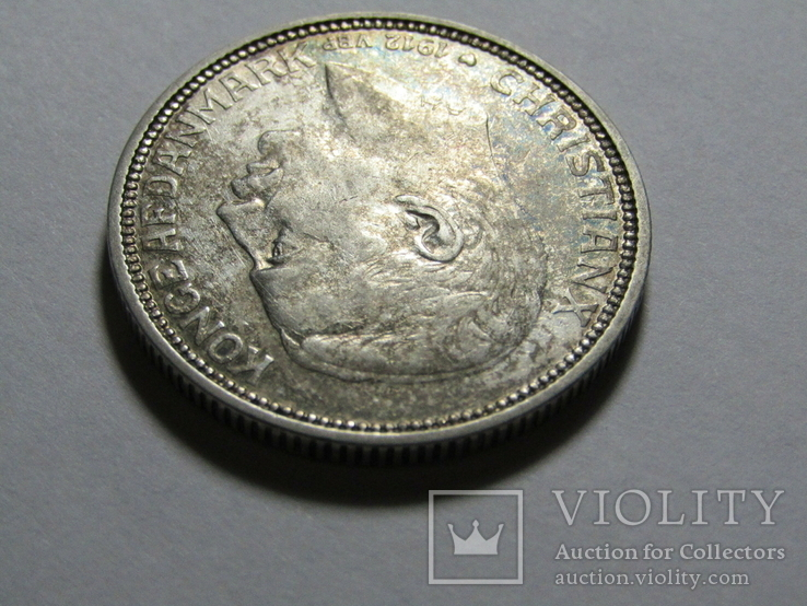 2 кроны 1912 Дания. серебро, фото №9