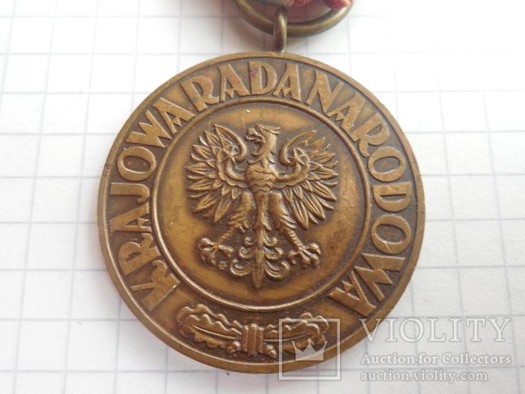 Медаль Победы и Свободы Польша, фото №3