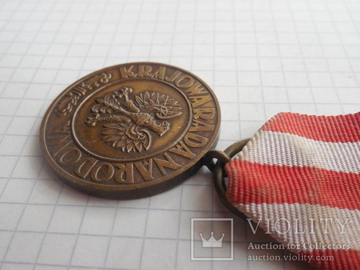 Медаль Победы и Свободы Польша, фото №5
