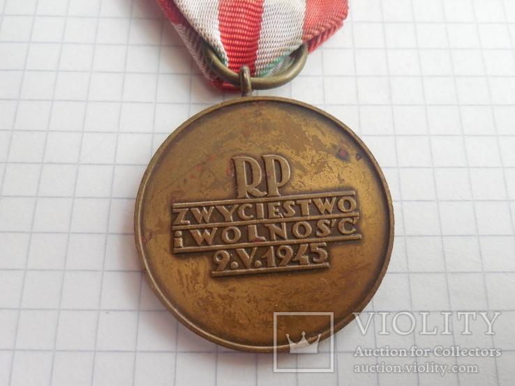 Медаль Победы и Свободы Польша, фото №7