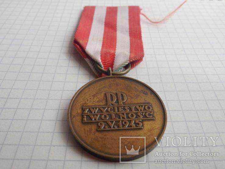 Медаль Победы и Свободы Польша, фото №8