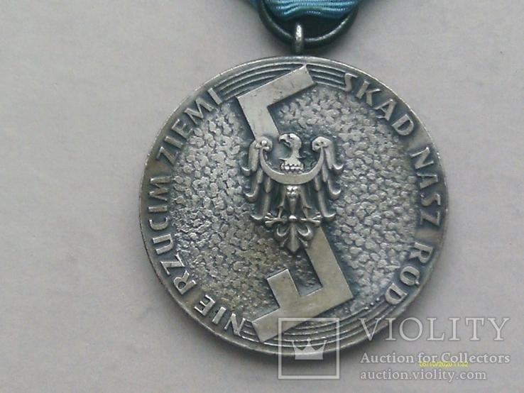Медаль Родла Польша. NIE RZUCIM ZIEMI SKD NASZ RD., фото №3