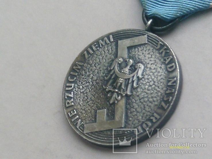 Медаль Родла Польша. NIE RZUCIM ZIEMI SKD NASZ RD., фото №5