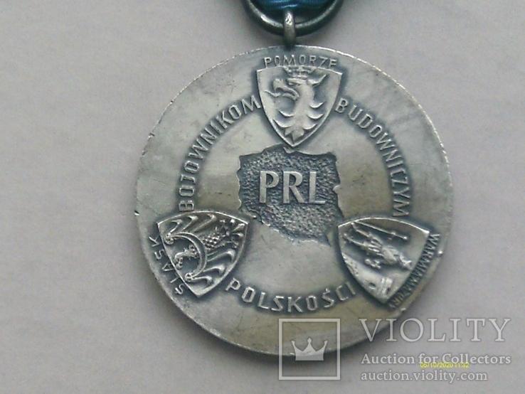 Медаль Родла Польша. NIE RZUCIM ZIEMI SKD NASZ RD., фото №7