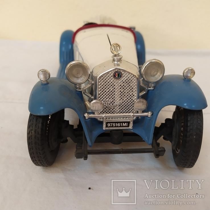 Автомобиль Alfa Romeo 2300 Spider (1932). Bburago. Италия, фото №4