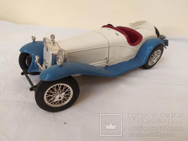Автомобиль Alfa Romeo 2300 Spider (1932). Bburago. Италия, фото №5