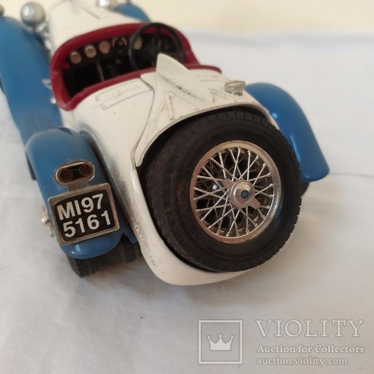 Автомобиль Alfa Romeo 2300 Spider (1932). Bburago. Италия, фото №9