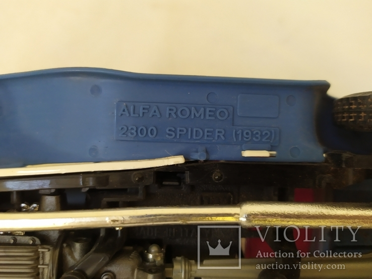 Автомобиль Alfa Romeo 2300 Spider (1932). Bburago. Италия, фото №11