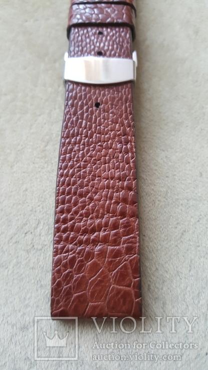 Ремень из кожи страуса 22 мм новый, фото №3