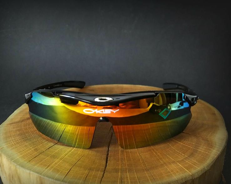 Тактические очки «Oakley Polarized» 5 линз