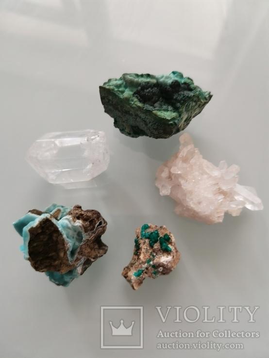 Минералы природные. 5 камней., фото №2